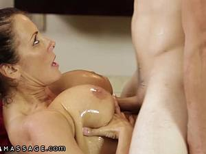 Nasty things go through the mind of this sex depraved housewife