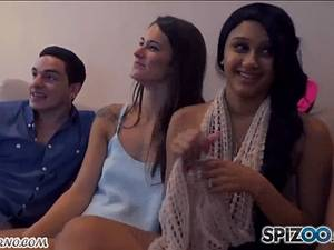 POV Swinger orgy with young friends from college
