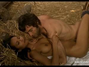 Luscious Laura Gemser and Monica Zanchi in a steamy scene